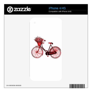 Bicycle 2 decals for iPhone 4