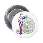 Bicycle 2 Inch Round Button