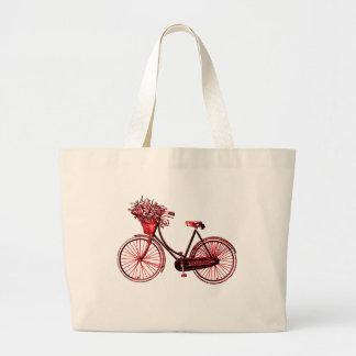 Bicycle 2 large tote bag