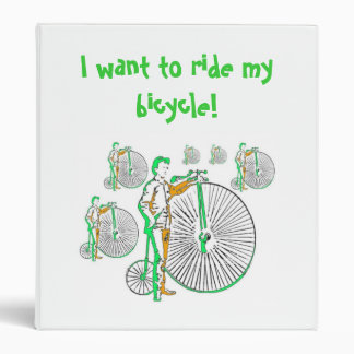 Bicycle 3 Ring Binder