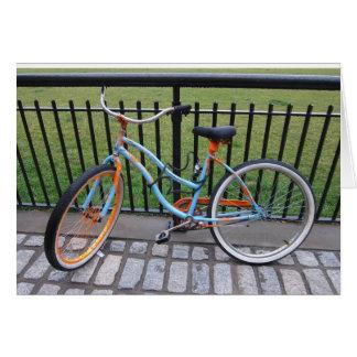 Bicycle 5x7 card