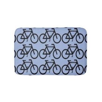 Bicycle Abstract Bath Mats