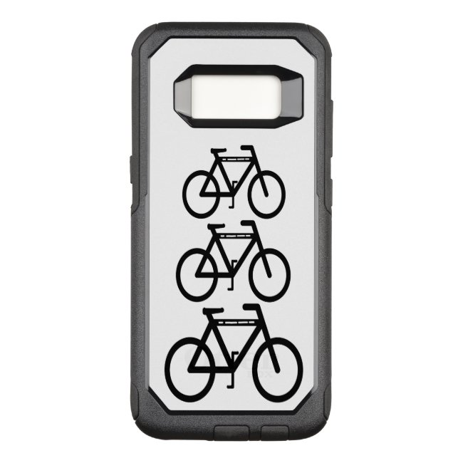 Bicycle Abstract OtterBox Samsung Galaxy S8 Case