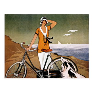 Bicycle Ad, 1925 Postcard