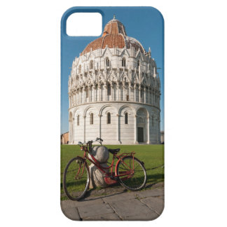 Bicycle and Baptistry of St. John, Pisa, Italy iPhone SE/5/5s Case