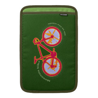bicycle : bike / biking cool MacBook sleeve