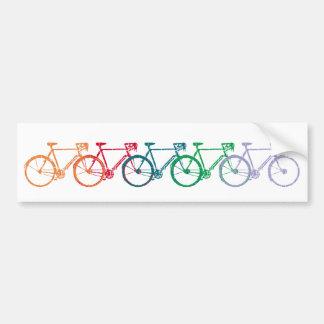 bicycle = bike = biking . nice bumper sticker