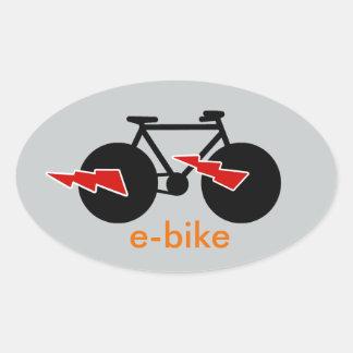 bicycle = bike = biking . nice oval sticker