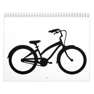 Bicycle bike calendar