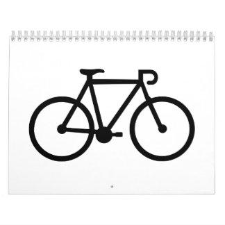 Bicycle bike calendars