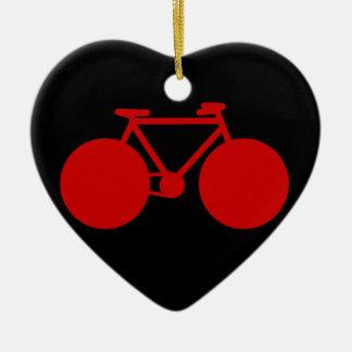 bicycle = bike ceramic ornament
