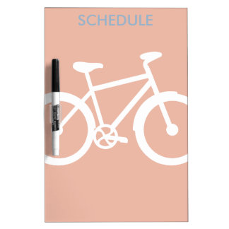 Bicycle Bike Cycling Graphic Dry-Erase Board