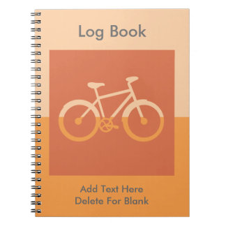 Bicycle Bike Cycling Graphic Spiral Notebooks