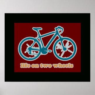 bicycle . bike / cycling nice poster