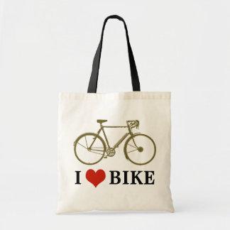 bicycle . bike / cycling nice tote bag