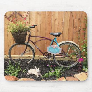 Bicycle Bike Garden Mouse Pad Mousepad