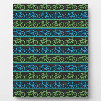 Bicycle bike pattern plaque