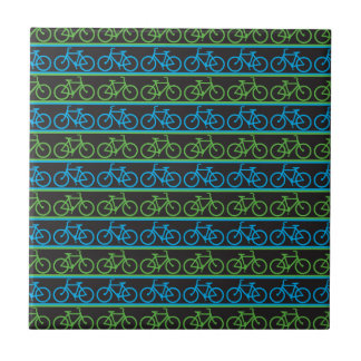 Bicycle bike pattern tile