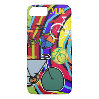 bicycle : bikes ; cyclist cool iPhone 8/7 case