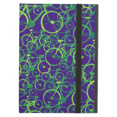 Bicycle Bikes ~ Patterns Ipad Air Cover at Zazzle