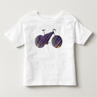 bicycle - biking + bike toddler t-shirt