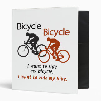 Bicycle Binder