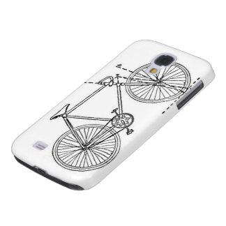 Bicycle Blueprint Samsung Galaxy S4 Cover