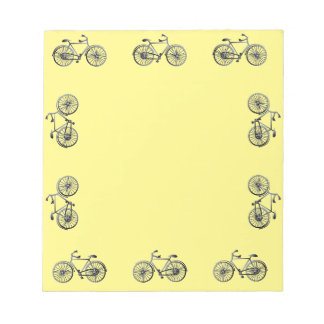 Bicycle Borders on Notepad