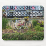 Bicycle Bouquets Mouse Pad