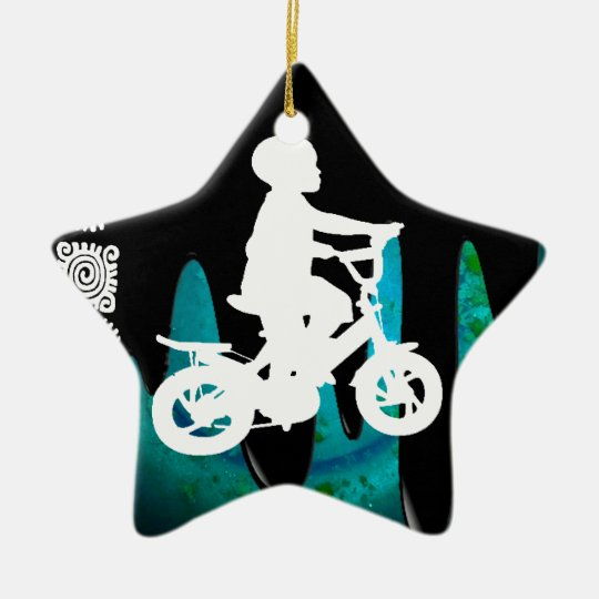 BICYCLE BOY PRODUCTS CERAMIC ORNAMENT