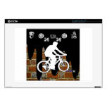 BICYCLE BRICK BACKGROUND PRODUCTS LAPTOP DECAL