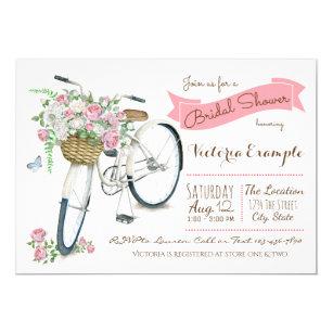 Bicycle bridal shower invitations zazzle bicycle bridal shower invitation filmwisefo