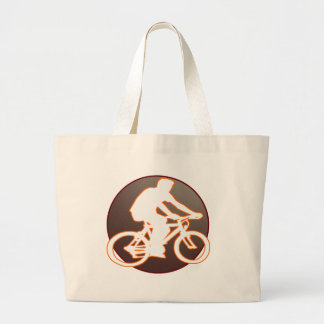 BICYCLE BROWN CIRCLE PRODUCTS CANVAS BAG