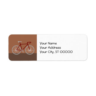 Bicycle - brown label