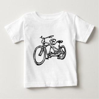 Bicycle built for 2 (antique schwinn tandem) bike baby T-Shirt