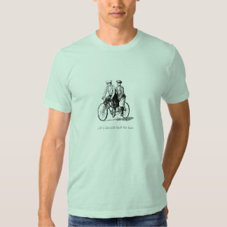 Bicycle Built for Two Couples Shirt 2