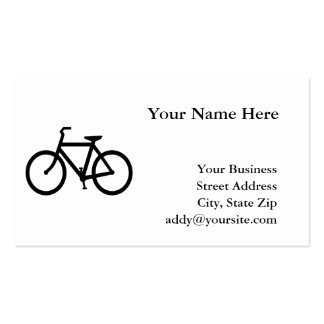 Bicycle Double-Sided Standard Business Cards (Pack Of 100)
