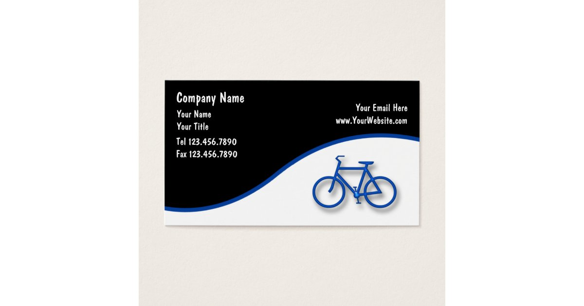Bicycle Business Cards | Zazzle.com
