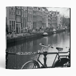 Bicycle by Canal 3 Ring Binder