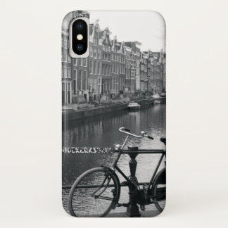 Bicycle by Canal iPhone X Case