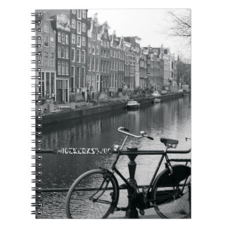 Bicycle by Canal Notebooks