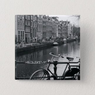 Bicycle by Canal Pinback Button