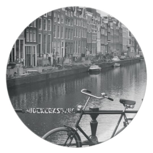 Bicycle by Canal Plate
