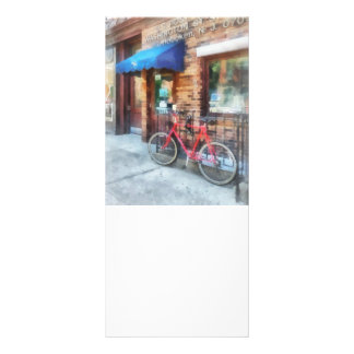 Bicycle By Post Office Rack Card