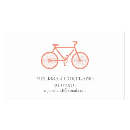 Bicycle Calling Card