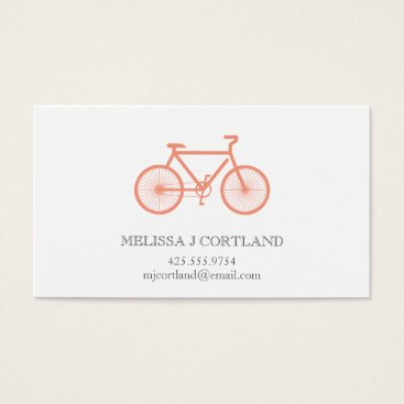 Professional Business Bicycle Calling Card