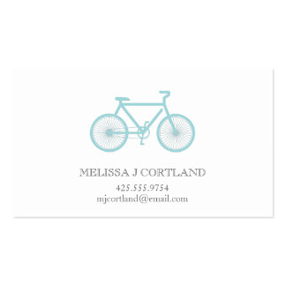 Bicycle Calling Card Double-Sided Standard Business Cards (Pack Of 100)
