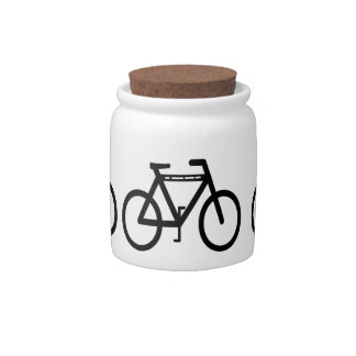 Bicycle Candy Jar