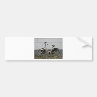 Bicycle Car Bumper Sticker