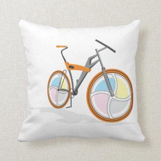 Bicycle cartoon pillows